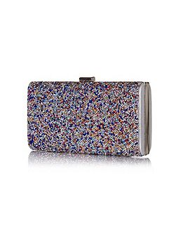 Sparkle Diamante Clutch Bag