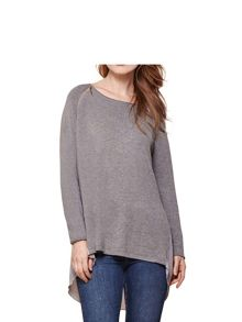 Yumi Zipper Knit Jumper