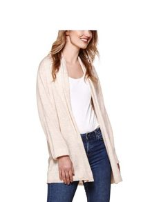 Yumi Lace Back Knit Cardigan