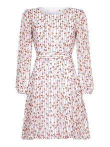 Yumi Floral Stripe Day Dress