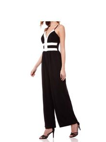Mela London Two Tone Strappy Jumpsuit