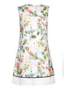 Yumi Floral Print Shift Dress