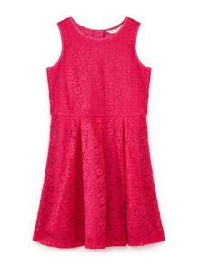 Yumi Girls Floral Lace Dress