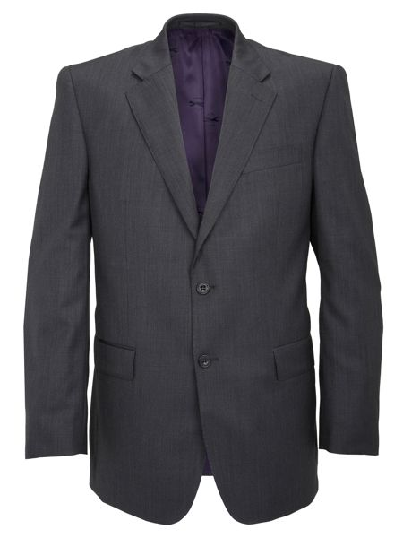 Paul Costelloe Charcoal Pick and Pick Suit Jacket