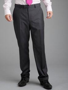 Paul Costelloe Charcoal Pick and Pick Suit Trousers