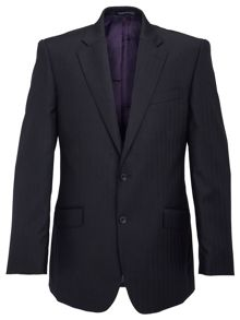 Paul Costelloe Modern Fit Herringbone Suit Jacket