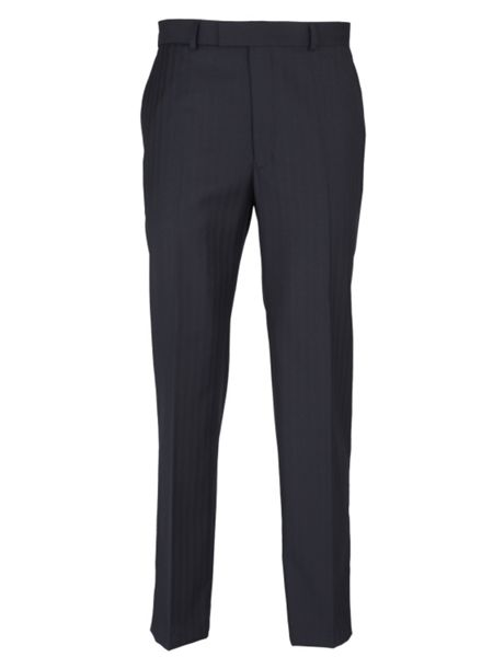Paul Costelloe Modern Fit Herringbone Suit Trousers