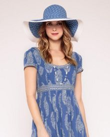 Summer palace blues hat