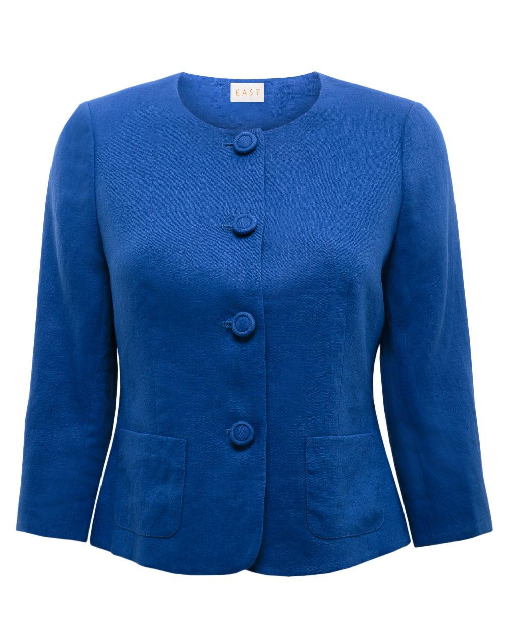 Victoire collarless jacket