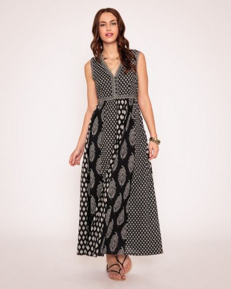 East Rambagh Festival Maxi Dress