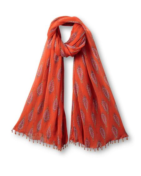 East Anokhi booti scarf
