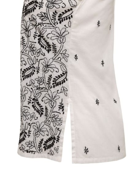 East Chikkan Embroidered Top