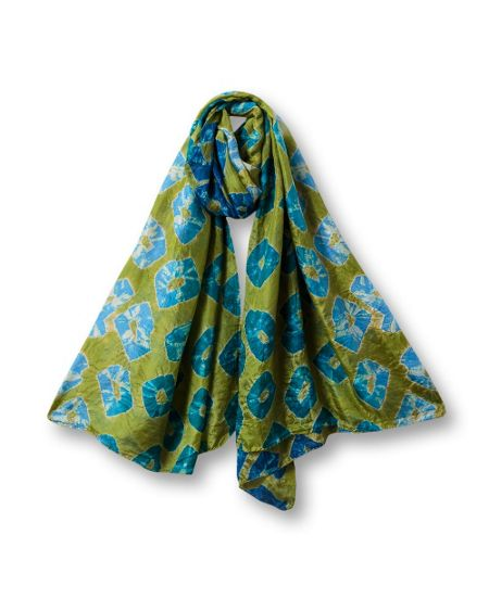 East Large bandhini scarf