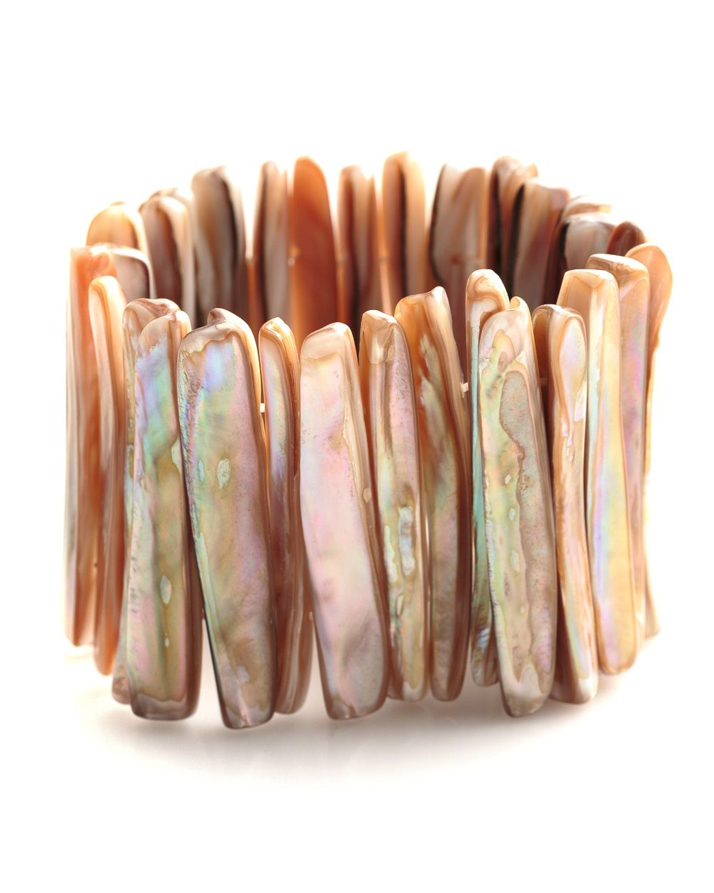 Jagged Shell Bracelet