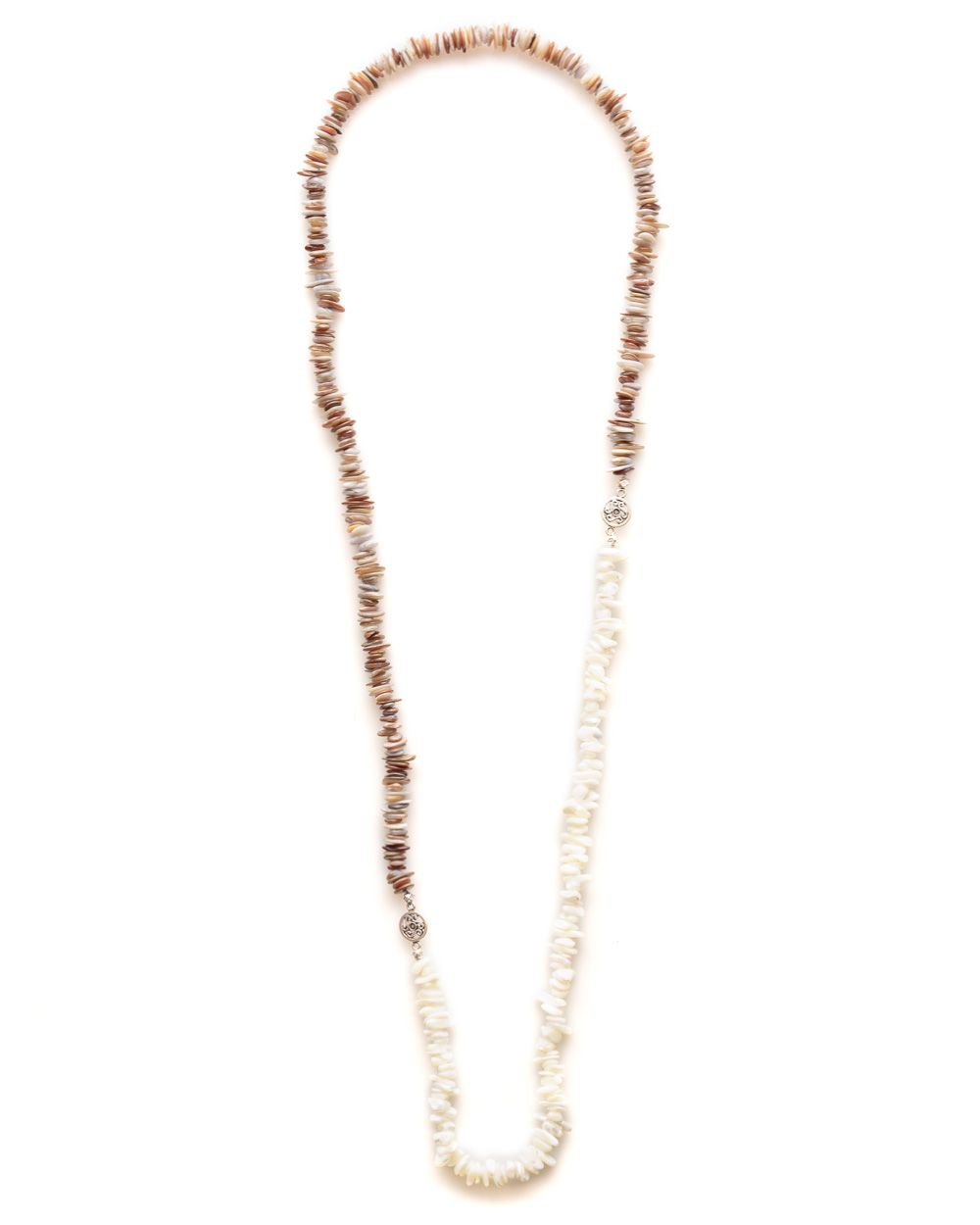 Ana neutral shell necklace
