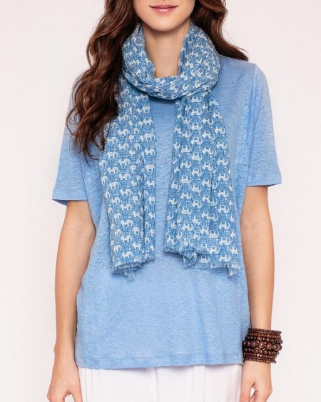 East Nelly print scarf