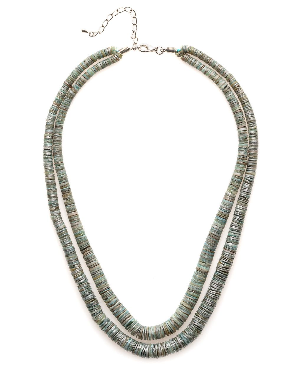 Shell link necklace
