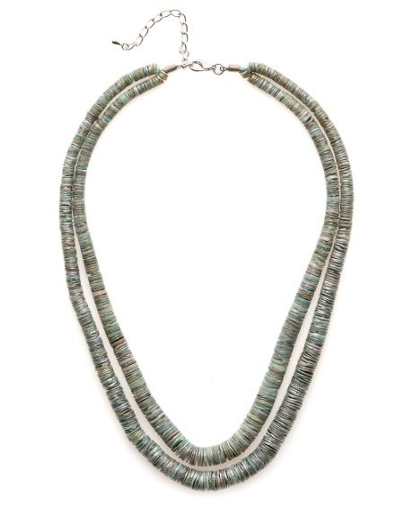East Shell link necklace