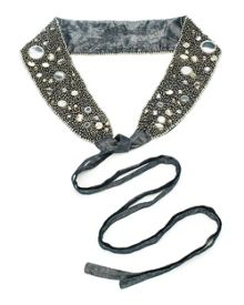 East Lurex Embellished Belt