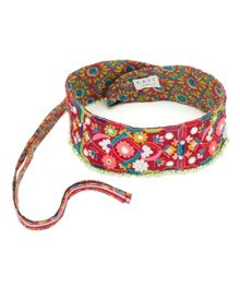 Bead Embroidered Belt