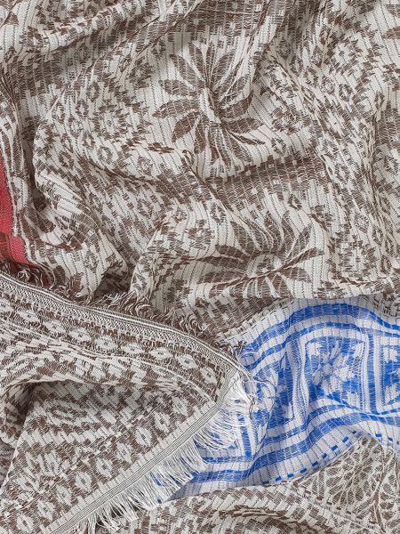 East Woven Jacquard Scarf
