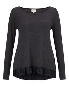 Pleat Back Jumper
