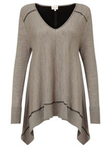 East OVERSIZED MERINO JUMPER