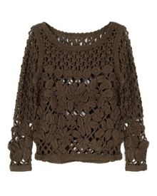East Hand Crochet Top