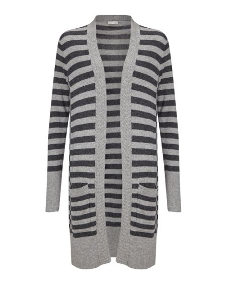 East Stripe Knitted Cardigan