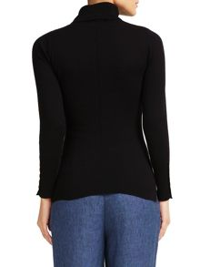 East Cotton Polo Neck Jumper