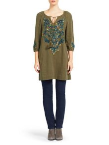 East Lamisa Embroidered Tunic
