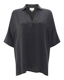 East Oversized Silk Shirt