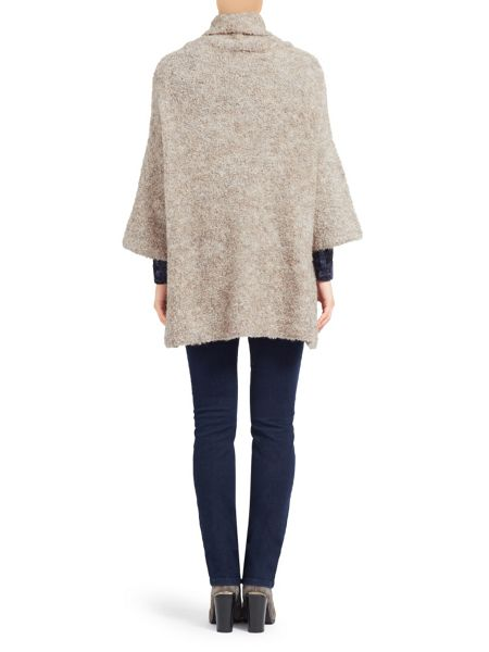 East Cowl Neck Boucle Jumper