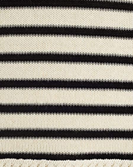 East Stripe Cable Detail Jumper