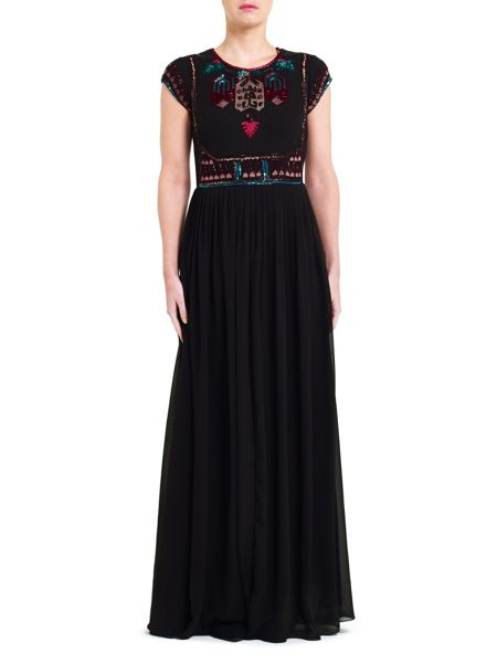 East Sequin Detail Maxi Dress
