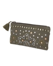 Serina Mirror Work Purse
