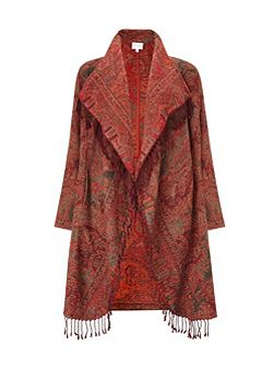 East Waterfall Shawl Coat