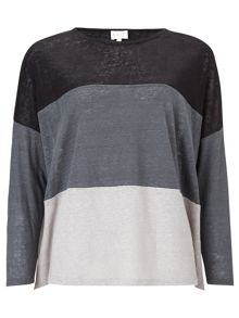 East JERSEY COLOUR BLOCK TOP