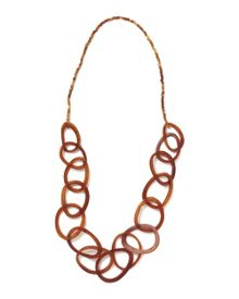East Long Horn Necklace