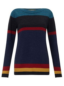 Stripe Merino Jumper