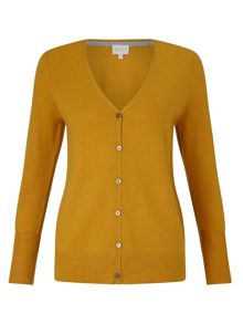 East V Neck Merino Cardigan