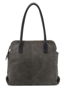 East Multi Pocket Suede Bag