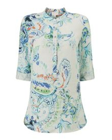 East Summer Paisley Shirt