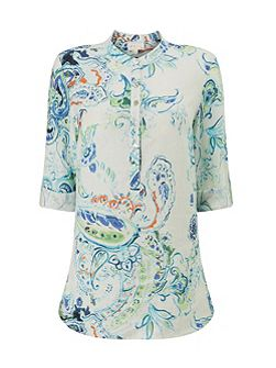 Summer Paisley Shirt