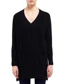 East V Neck Slouchy Jumper