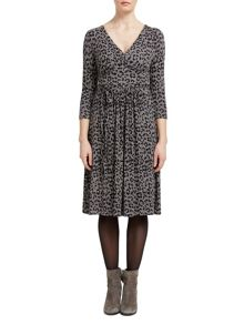 East Leopard Print Dress