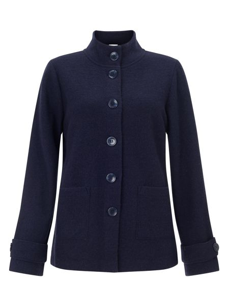 East Boiled Wool Pea Coat