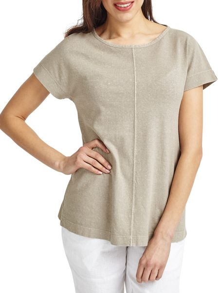 East Boat Neck Jersey Top