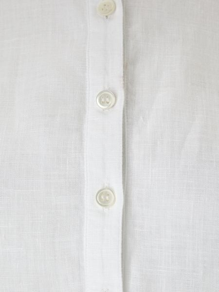 East Linen Round Neck Shirt