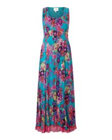 East Hope Print Pleated Dress